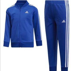 🆕 Adidas Classic Black Tracksuit 4T